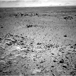 Nasa's Mars rover Curiosity acquired this image using its Left Navigation Camera on Sol 454, at drive 850, site number 22