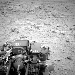 Nasa's Mars rover Curiosity acquired this image using its Left Navigation Camera on Sol 454, at drive 862, site number 22