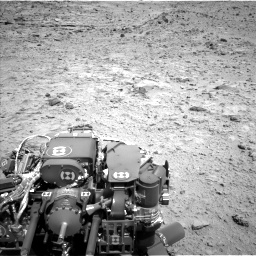Nasa's Mars rover Curiosity acquired this image using its Left Navigation Camera on Sol 454, at drive 868, site number 22