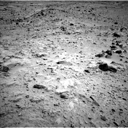 Nasa's Mars rover Curiosity acquired this image using its Left Navigation Camera on Sol 454, at drive 892, site number 22