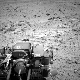 Nasa's Mars rover Curiosity acquired this image using its Left Navigation Camera on Sol 454, at drive 982, site number 22