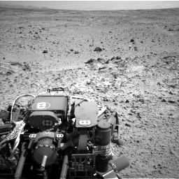 Nasa's Mars rover Curiosity acquired this image using its Left Navigation Camera on Sol 454, at drive 1012, site number 22