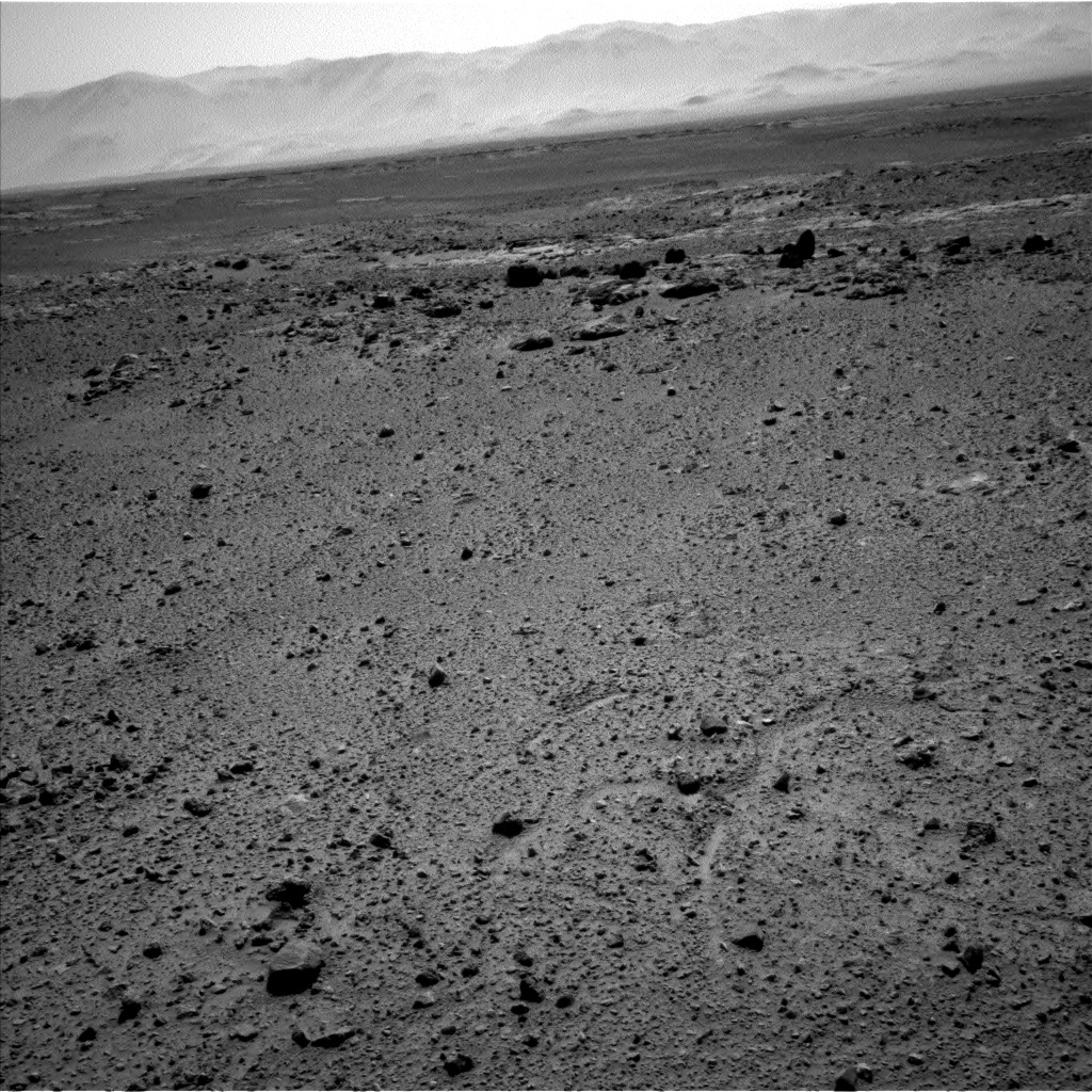 Nasa's Mars rover Curiosity acquired this image using its Left Navigation Camera on Sol 454, at drive 0, site number 23