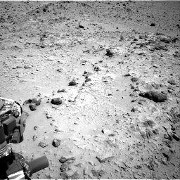 Nasa's Mars rover Curiosity acquired this image using its Right Navigation Camera on Sol 454, at drive 946, site number 22