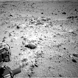 Nasa's Mars rover Curiosity acquired this image using its Right Navigation Camera on Sol 454, at drive 958, site number 22