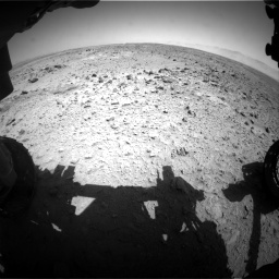 Nasa's Mars rover Curiosity acquired this image using its Front Hazard Avoidance Camera (Front Hazcam) on Sol 455, at drive 330, site number 23
