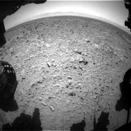 Nasa's Mars rover Curiosity acquired this image using its Front Hazard Avoidance Camera (Front Hazcam) on Sol 455, at drive 444, site number 23
