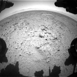 Nasa's Mars rover Curiosity acquired this image using its Front Hazard Avoidance Camera (Front Hazcam) on Sol 455, at drive 366, site number 23