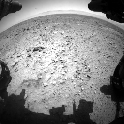 Nasa's Mars rover Curiosity acquired this image using its Front Hazard Avoidance Camera (Front Hazcam) on Sol 455, at drive 390, site number 23