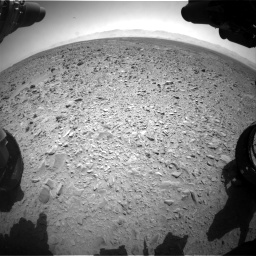 Nasa's Mars rover Curiosity acquired this image using its Front Hazard Avoidance Camera (Front Hazcam) on Sol 455, at drive 462, site number 23