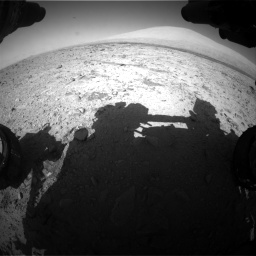 Nasa's Mars rover Curiosity acquired this image using its Front Hazard Avoidance Camera (Front Hazcam) on Sol 455, at drive 564, site number 23
