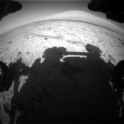 Nasa's Mars rover Curiosity acquired this image using its Front Hazard Avoidance Camera (Front Hazcam) on Sol 455, at drive 582, site number 23