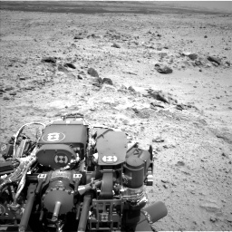 Nasa's Mars rover Curiosity acquired this image using its Left Navigation Camera on Sol 455, at drive 312, site number 23