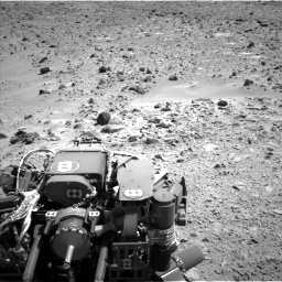 Nasa's Mars rover Curiosity acquired this image using its Left Navigation Camera on Sol 455, at drive 426, site number 23
