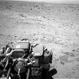 Nasa's Mars rover Curiosity acquired this image using its Left Navigation Camera on Sol 455, at drive 510, site number 23