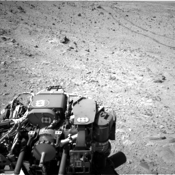 Nasa's Mars rover Curiosity acquired this image using its Left Navigation Camera on Sol 455, at drive 564, site number 23
