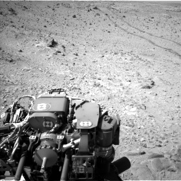 Nasa's Mars rover Curiosity acquired this image using its Left Navigation Camera on Sol 455, at drive 570, site number 23