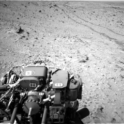 Nasa's Mars rover Curiosity acquired this image using its Left Navigation Camera on Sol 455, at drive 576, site number 23