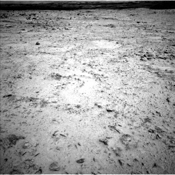 NASA's Mars rover Curiosity acquired this image using its Left Navigation Camera (Navcams) on Sol 455