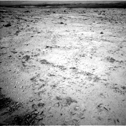 Nasa's Mars rover Curiosity acquired this image using its Left Navigation Camera on Sol 455, at drive 588, site number 23