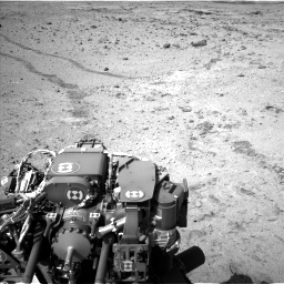 Nasa's Mars rover Curiosity acquired this image using its Left Navigation Camera on Sol 455, at drive 600, site number 23