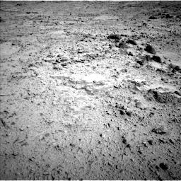 Nasa's Mars rover Curiosity acquired this image using its Left Navigation Camera on Sol 455, at drive 612, site number 23