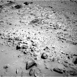 Nasa's Mars rover Curiosity acquired this image using its Right Navigation Camera on Sol 455, at drive 42, site number 23