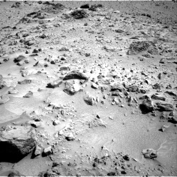 Nasa's Mars rover Curiosity acquired this image using its Right Navigation Camera on Sol 455, at drive 54, site number 23