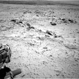 Nasa's Mars rover Curiosity acquired this image using its Right Navigation Camera on Sol 455, at drive 312, site number 23