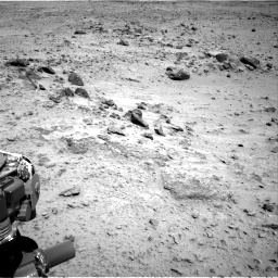 Nasa's Mars rover Curiosity acquired this image using its Right Navigation Camera on Sol 455, at drive 330, site number 23