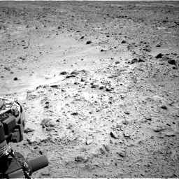 Nasa's Mars rover Curiosity acquired this image using its Right Navigation Camera on Sol 455, at drive 348, site number 23