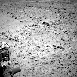 Nasa's Mars rover Curiosity acquired this image using its Right Navigation Camera on Sol 455, at drive 360, site number 23