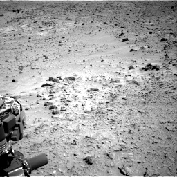 Nasa's Mars rover Curiosity acquired this image using its Right Navigation Camera on Sol 455, at drive 384, site number 23