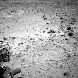 Nasa's Mars rover Curiosity acquired this image using its Right Navigation Camera on Sol 455, at drive 396, site number 23