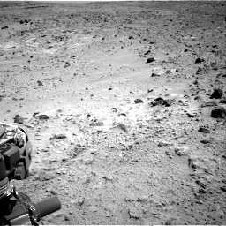 Nasa's Mars rover Curiosity acquired this image using its Right Navigation Camera on Sol 455, at drive 402, site number 23