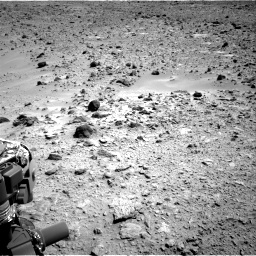 Nasa's Mars rover Curiosity acquired this image using its Right Navigation Camera on Sol 455, at drive 420, site number 23
