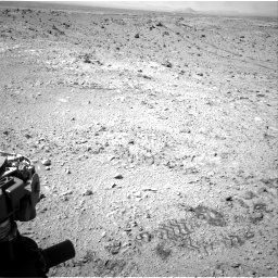 Nasa's Mars rover Curiosity acquired this image using its Right Navigation Camera on Sol 455, at drive 516, site number 23