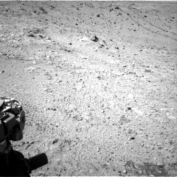 Nasa's Mars rover Curiosity acquired this image using its Right Navigation Camera on Sol 455, at drive 546, site number 23