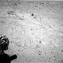 Nasa's Mars rover Curiosity acquired this image using its Right Navigation Camera on Sol 455, at drive 552, site number 23