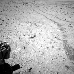 Nasa's Mars rover Curiosity acquired this image using its Right Navigation Camera on Sol 455, at drive 582, site number 23