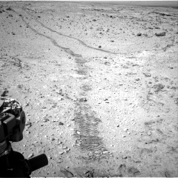 Nasa's Mars rover Curiosity acquired this image using its Right Navigation Camera on Sol 455, at drive 594, site number 23