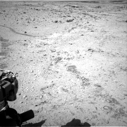 Nasa's Mars rover Curiosity acquired this image using its Right Navigation Camera on Sol 455, at drive 606, site number 23