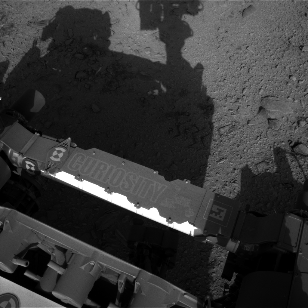 Nasa's Mars rover Curiosity acquired this image using its Left Navigation Camera on Sol 456, at drive 616, site number 23