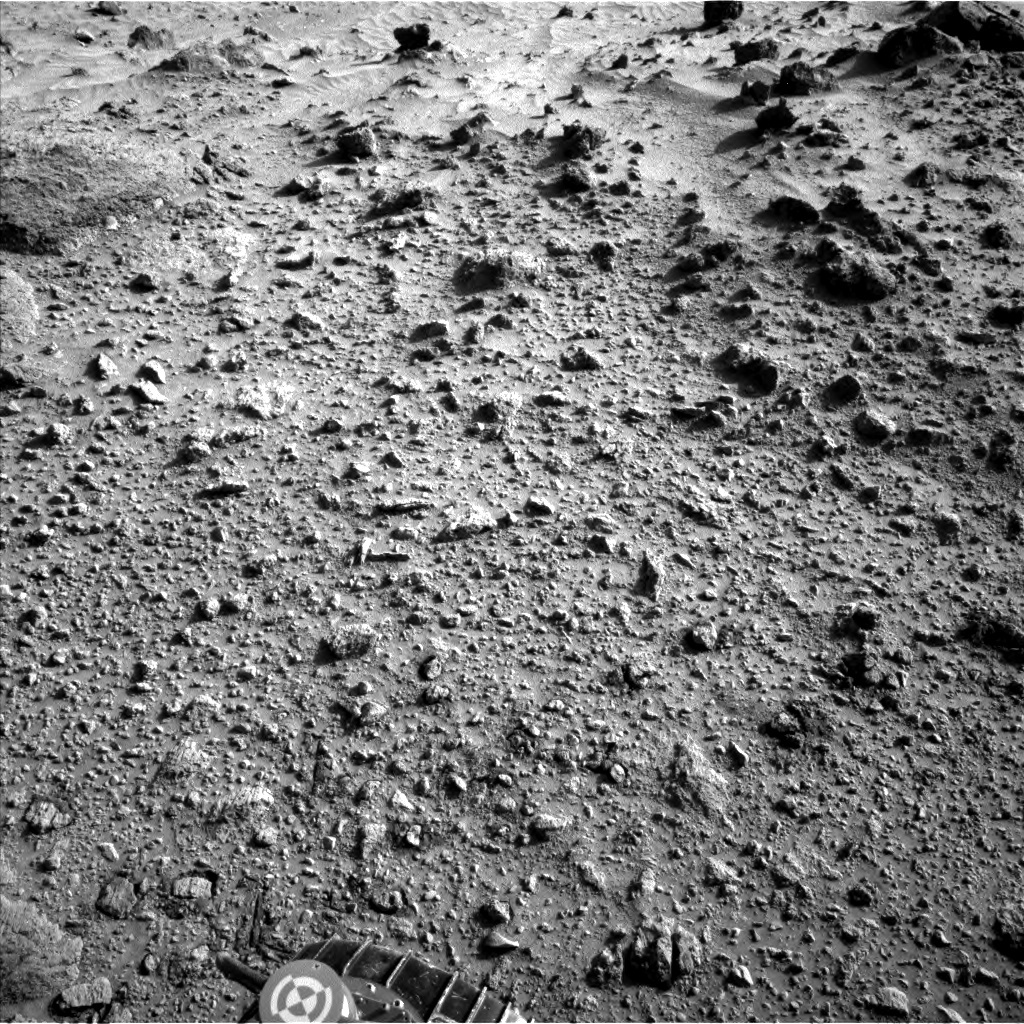 NASA's Mars rover Curiosity acquired this image using its Left Navigation Camera (Navcams) on Sol 456