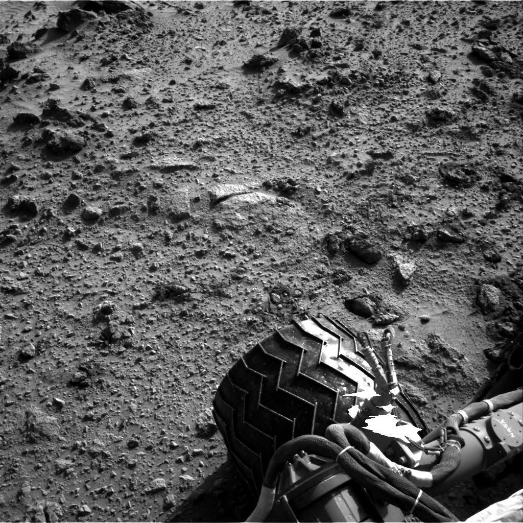 NASA's Mars rover Curiosity acquired this image using its Right Navigation Cameras (Navcams) on Sol 456