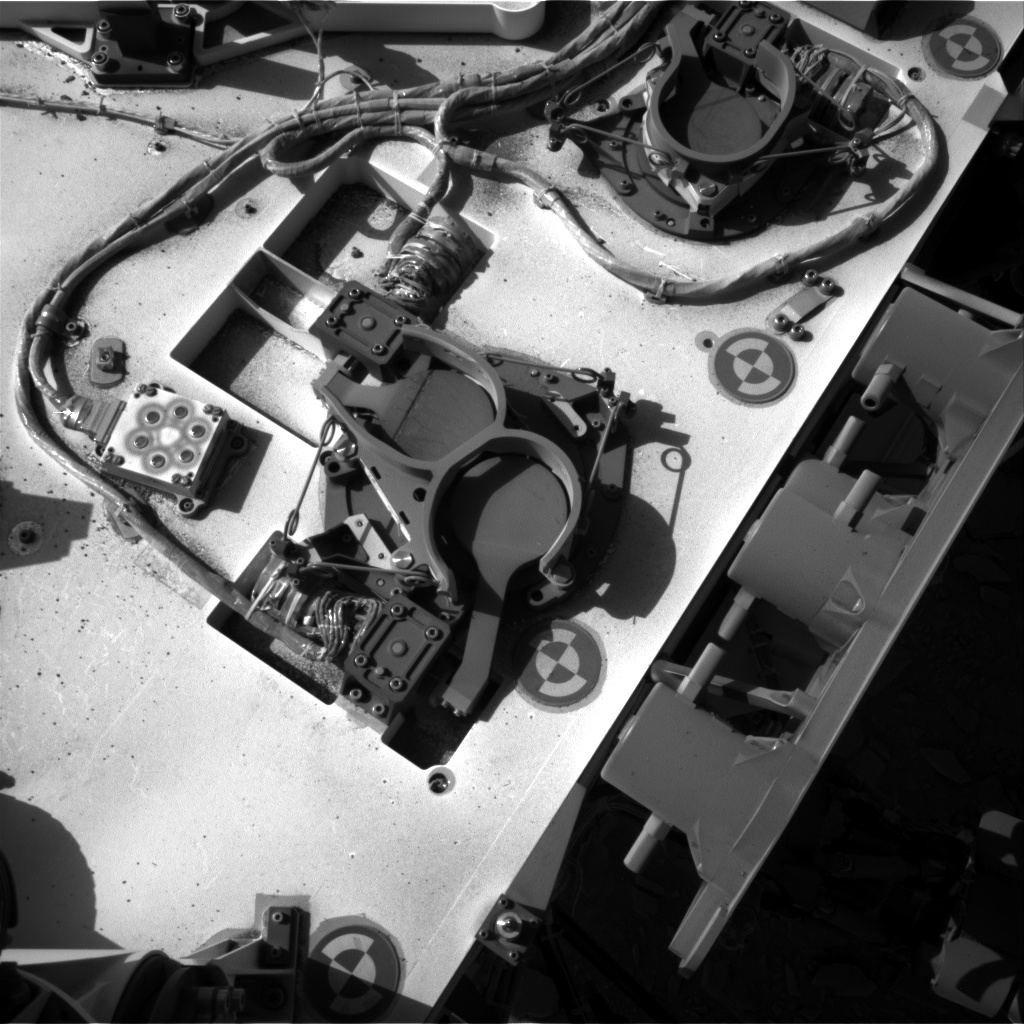 Nasa's Mars rover Curiosity acquired this image using its Right Navigation Camera on Sol 463, at drive 616, site number 23