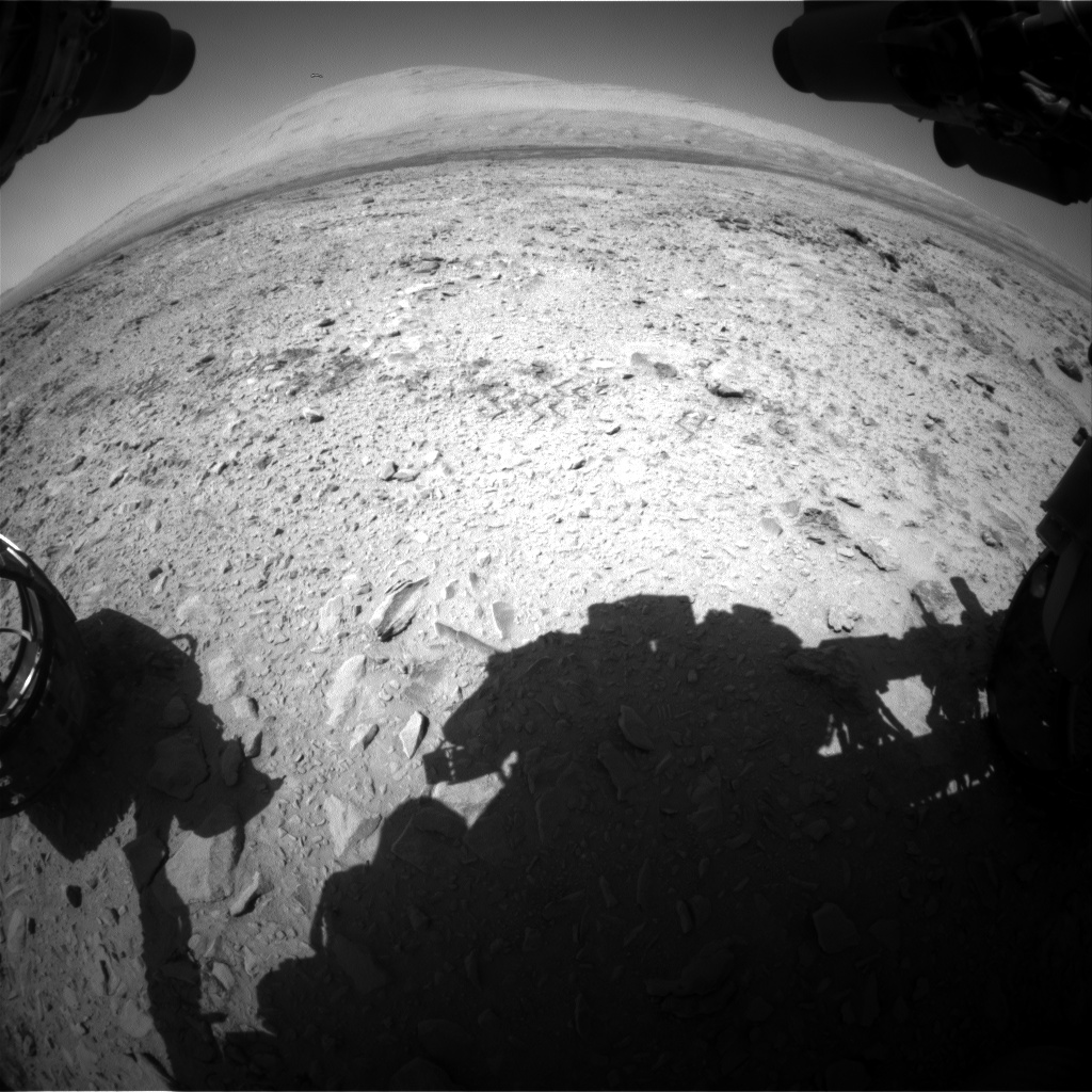 Nasa's Mars rover Curiosity acquired this image using its Front Hazard Avoidance Camera (Front Hazcam) on Sol 465, at drive 616, site number 23