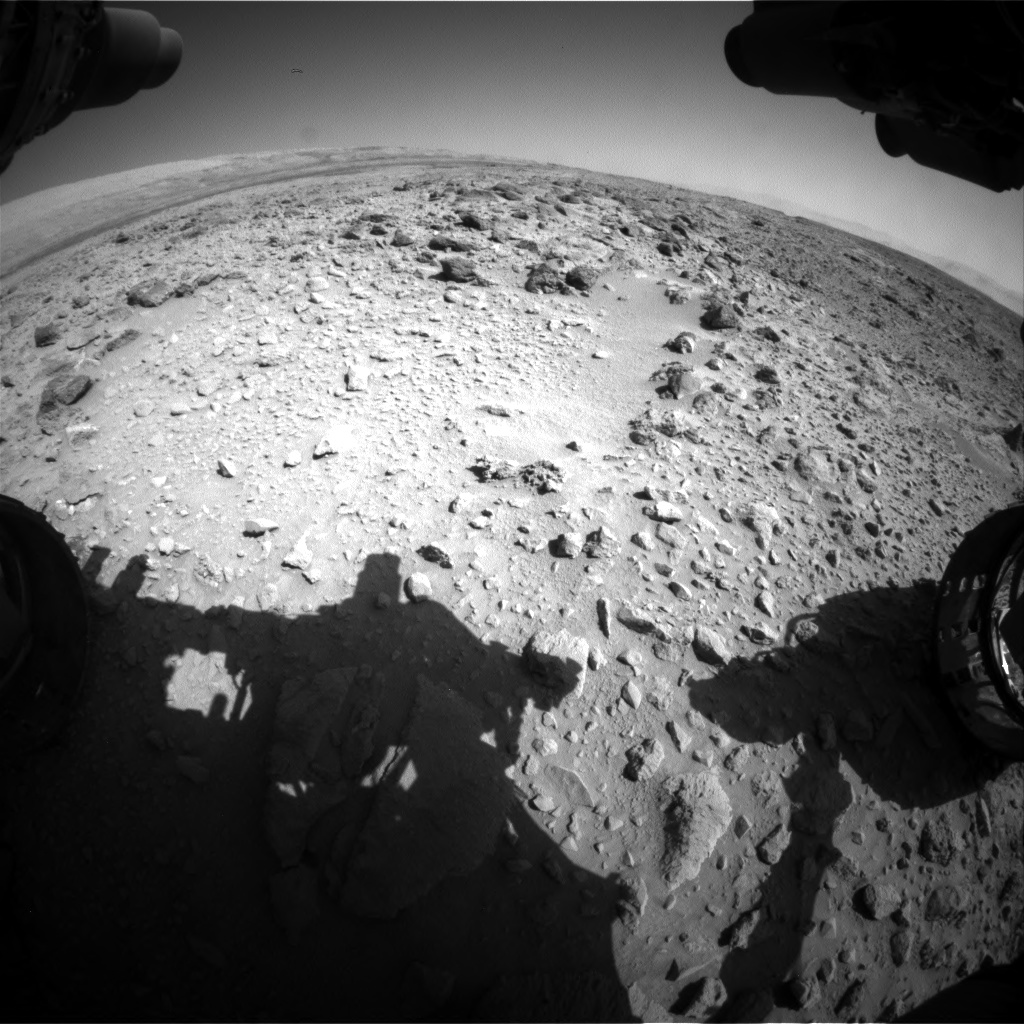 Nasa's Mars rover Curiosity acquired this image using its Front Hazard Avoidance Camera (Front Hazcam) on Sol 465, at drive 890, site number 23