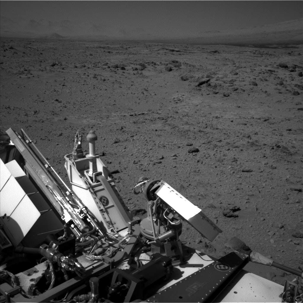 Nasa's Mars rover Curiosity acquired this image using its Left Navigation Camera on Sol 465, at drive 890, site number 23