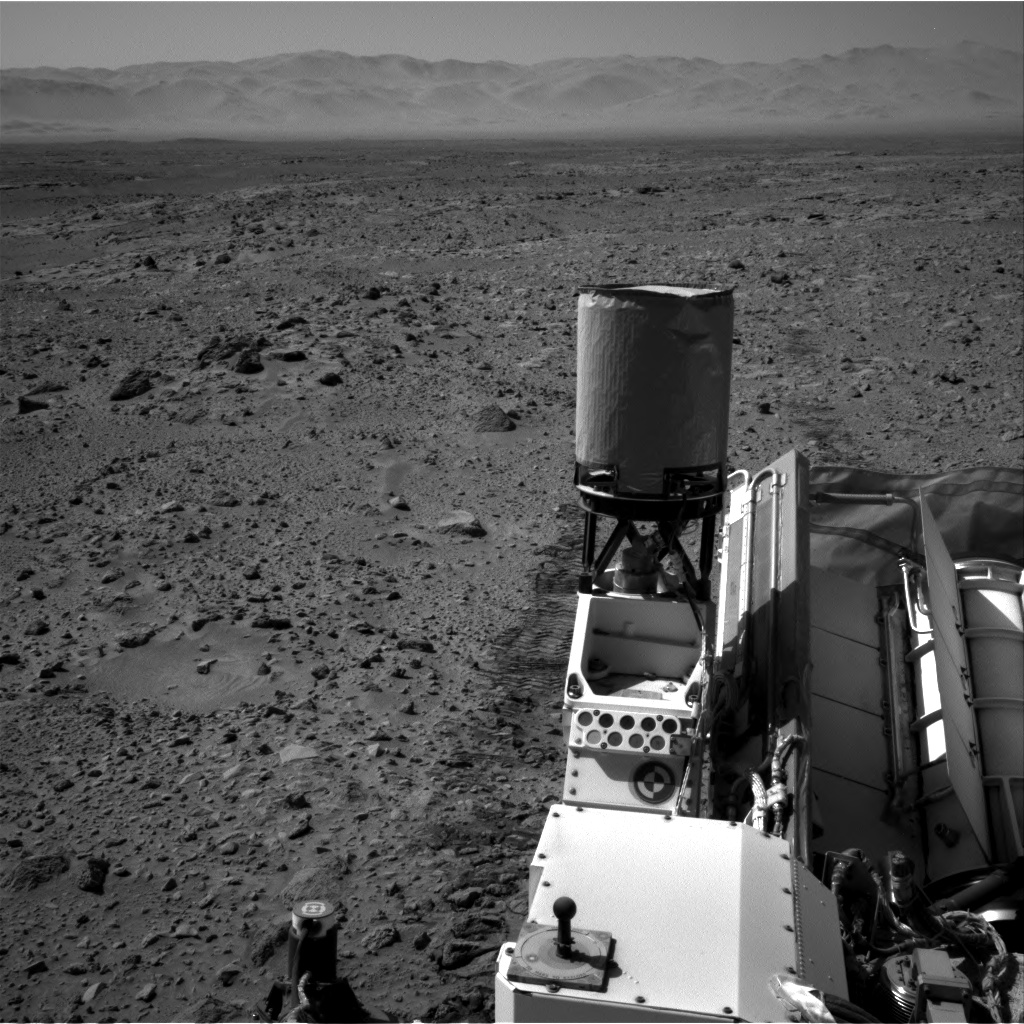 Nasa's Mars rover Curiosity acquired this image using its Right Navigation Camera on Sol 465, at drive 890, site number 23
